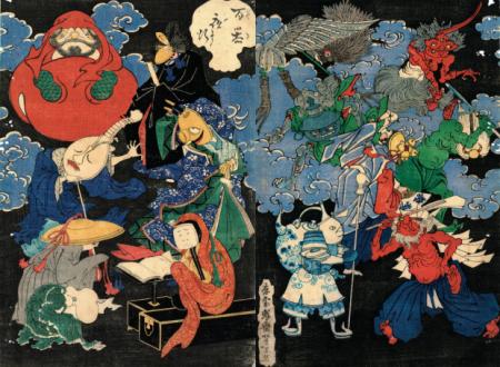 Mostri e spiriti inquieti nella tradizione giapponese